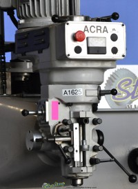 used acra cnc vertical mill (bed type) DM-2VS