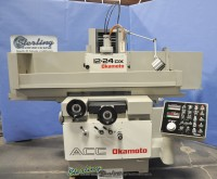 used okamoto automatic surface grinder ACC-1224DX