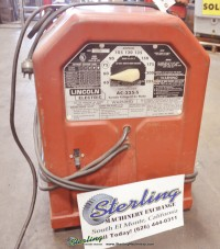 used lincoln arc welder AC-225-S