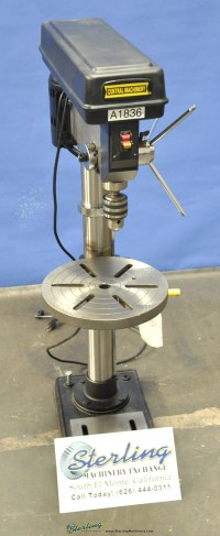 used central machinery 16 speed floor drill press 38144