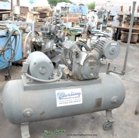used ingersoll rand piston 2 stage type air compressor with tank Type 30, 253D5