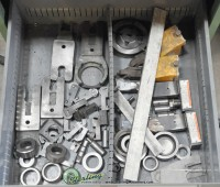 used lot of w.a. whitney single end punch tooling