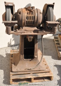 used double end grinder