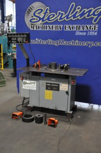 used krb mechanical table bender #8