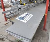 used lewis wire straightening and cut off machine with barfeed 10-FHA