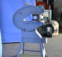 used rotex hand turret punch 18 - A