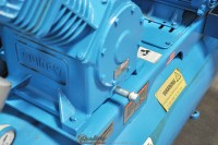used quincy northwest horizontal air compressor with tank QT-15-1204