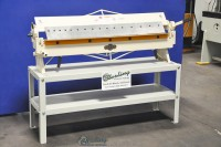used shop fox box and pan brake with stand M1049