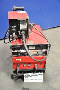 used lincoln constant voltage dc arc welding power source with ln-7 feeder IdealArc CV-300