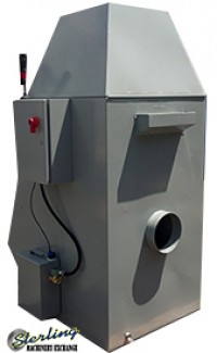 brand new at industrial wet dust collector for use with belt grinders like timesavers, aem and grindingmaster C5-2500