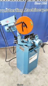 new scotchman (high turn, power clamping and manual head down feed) circular cold saws (for cutting steel, stainless, aluminum, brass, copper, plastics) CPO 275 HTPK