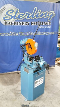 new scotchman (low turn, power clamping and manual down feed) circular cold saws (for cutting steel, stainless, aluminum, brass, copper, plastics) CPO 275 LTPK