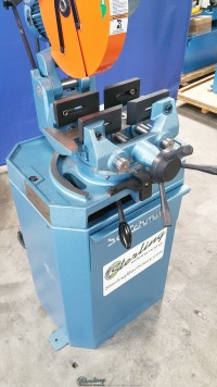 new scotchman (single phase- one speed, manual vise and manual down feed) circular cold saw (for cutting steel, stainless, aluminum, brass, copper, plastics) CPO 275 SS