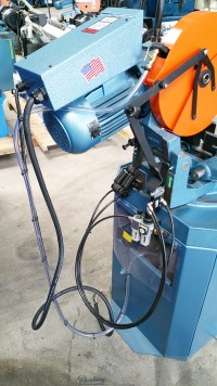 new scotchman (non-ferrous, power vise and manual down feed) circular cold saw (for cutting aluminum, brass, copper, plastics) CPO 350 NFPK