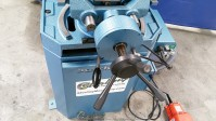 new scotchman (single phase- one speed, power vise and power down feed) circular cold saw (for cutting steel, stainless, aluminum, brass, copper, plastics) CPO 350 SSPKPD