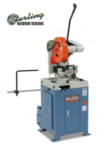 brand new baileigh heavy duty manually operated aluminum cutting cold saw CS-355M