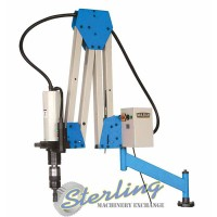 brand new baileigh double arm articulated tapping machine ETM-32-1500