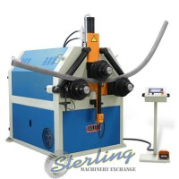 brand new baileigh cnc hydraulic double pinch angle bending machine R-CNC150