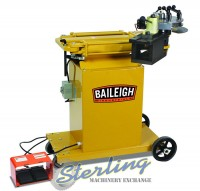 brand new baileigh hydraulic rotary draw tube & pipe bender RDB-150-AS