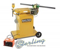 brand new baileigh hydraulic rotary draw tube & pipe bender RDB-175