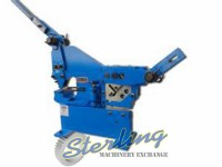 brand new baileigh manually operated ironworker with punch SW-22M-P