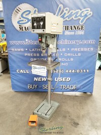 used rockwell floor drill press and tapping machine 15-201