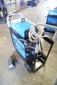 used miller ac/dc tig & stick water cooled welder Dynasty 350