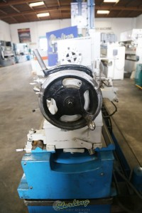 used mazak heavy duty oil country lathe with 12-1/2