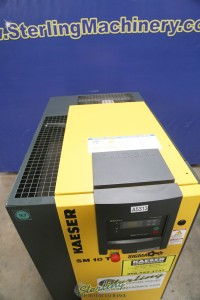 used kaeser screw air compressor, like new only 145 hours! SMT10T