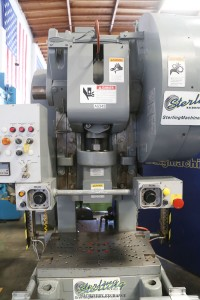 used minster obi geared stamping press (excellent condition. minster remanufactured 2005) 6