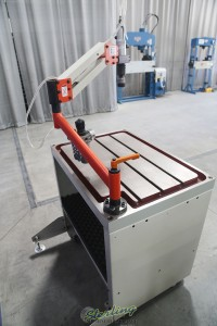 brand new baileigh single arm articulated air powered tapping machine ATM-27-1000