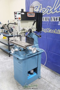 used (demo machinery) baileigh inverter driven milling & drilling machine VMD-30VS
