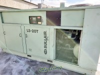 350 h.p. used sullair two-stage extreme pressure rotary screw air compressors with enclosure LS20TS-350A
