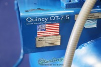 used quincy vertical air compressor with tank QT-7.5