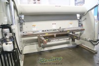used accurpress cnc hydraulic press brake (2 axis cnc controller x and y) 717512