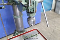used feeler geared head drill press w/ powered down feed and tapping S600B