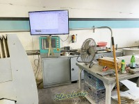 used flow cnc abrasive dual head waterjet cutting system with flow pc based flowmaster controller, 100hp 60kpsi dual-intensifier pump, dual heads waterjet cutting system (guaranteed by flow dealer!) 4x2MWMC