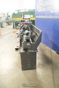 used jet engine lathe with stand, foot brake and dro GH-1440B