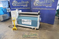 used baileigh hydraulic plate roll (excellent condition- save thousands from new) PR-503