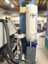 used hydmech automatic cnc vertical column cold saw with 12' automatic bar feed CNF400CNC