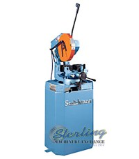 new scotchman (single phase- one speed, manual vise and manual down feed) circular cold saw (for cutting steel, stainless, aluminum, brass, copper, plastics) CPO 350 SS