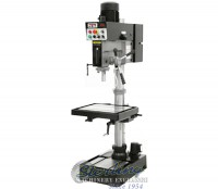 brand new jet evs drill press with forward & reverse tapping capability JDP-20EVST-230