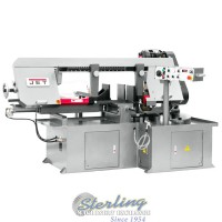 brand new jet semi-automatic dual mitering bandsaw MBS-1323EVS-H
