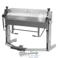 brand new jet dual sided box & pan brake with foot clamp PBF-1650D