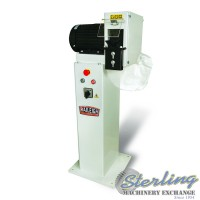 brand new baileigh pipe and tube deburring machine with stand DM-10