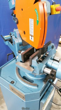 new scotchman (low turn, semi-automatic with power clamping and power head down feed) circular cold saws (for cutting steel, stainless, aluminum, brass, copper, plastics) CPO 350 LTPKPD