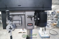 brand new jet industrial drill with electronic variable speed and power downfeed (1 phase, 110v) JDPE-20EVS-PDF