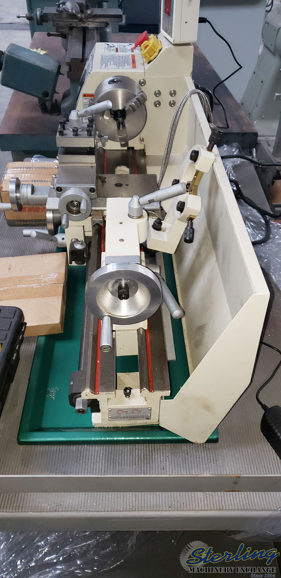 Used Grizzly Variable Speed Engine Lathe - Lathes Sterling