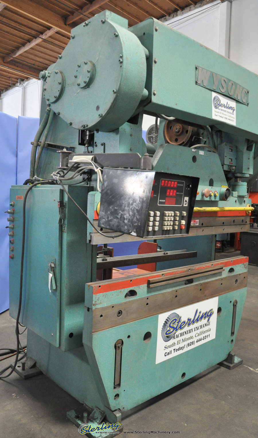 used wysong cnc press brake sterling machinery