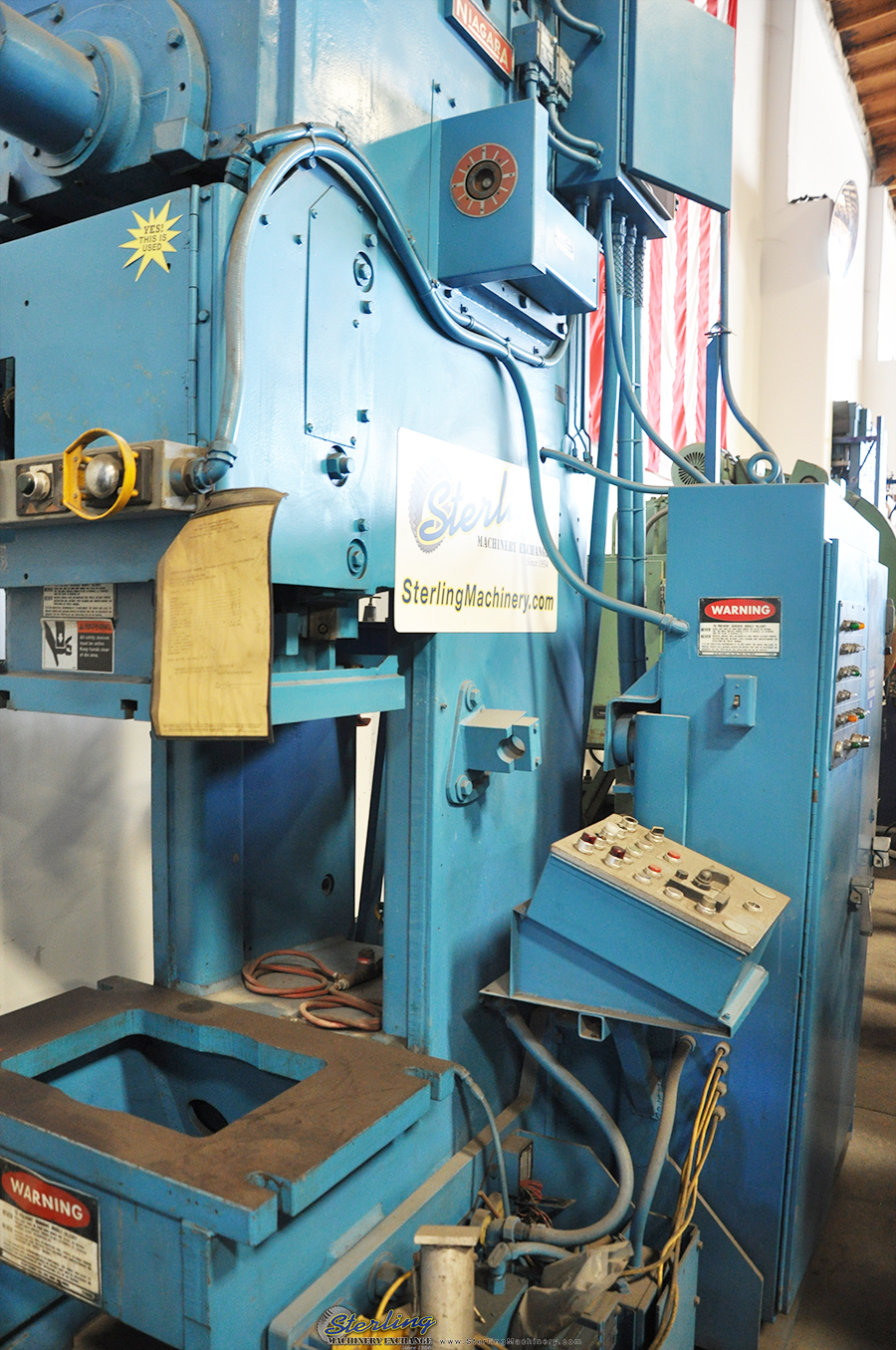 Used Niagara O B I Punch Press Sterling Machinery